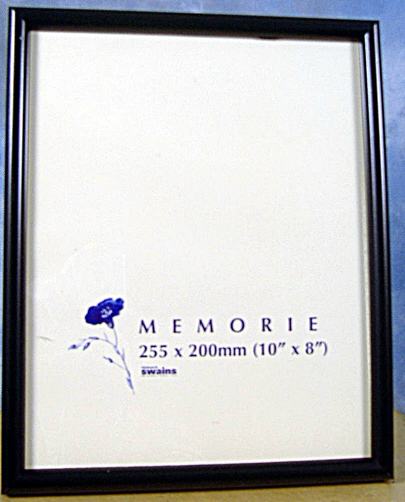 10x8 a4 12x10 14x11 black picture frame stand or hang free postage